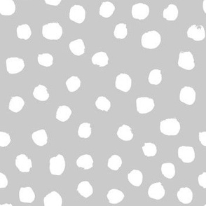 grey dots cute painted dot fabric coordinating fabric nursery baby fabric girls nursery baby