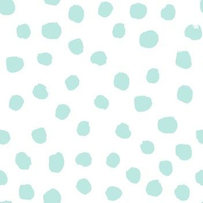 mint dots cute painted dot fabric coordinating fabric nursery baby fabric girls nursery baby
