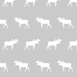 grey moose fabric nursery baby girls moose design cute moose fabric baby pastels