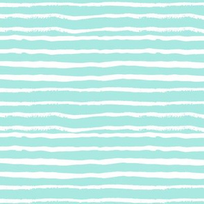 mint stripes painted stripe hand-drawn stripes fabric cute grey designs fabrics