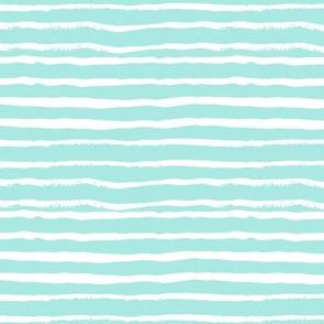 mint stripes painted stripe hand-drawn stripes fabric cute grey designs fabrics