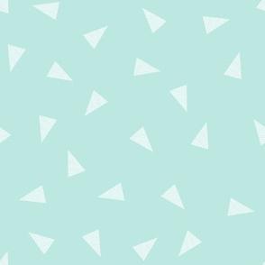 mint triangles cute triangles fabric best baby mint fabrics cute nursery