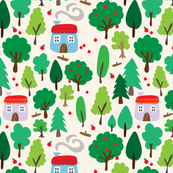 Little Cottages // by Annie Swift
