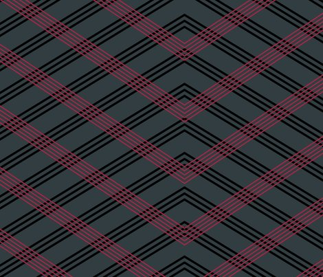 Rflowers_checkered_bw_lines_blkred-coord1_shop_preview