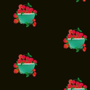Cherries_with_Basket_on_Black