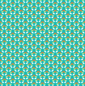 geometric_pattern__orange_mint_green