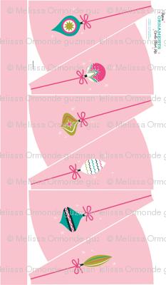 Ornament Circle Skirt Light Pink- 42 inch Fabrics