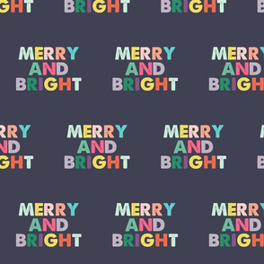 Navy Merry and Bright