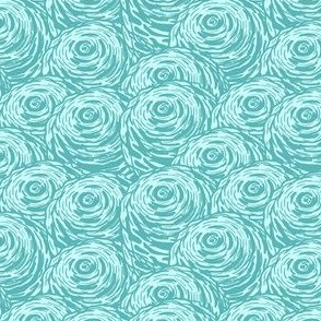 Aquamarine rose