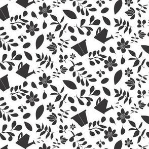 Scattered Garden black_on_white