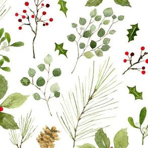Christmas foliage large