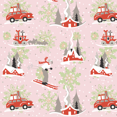 winter_wonderland fabric by julistyle on Spoonflower - custom fabric