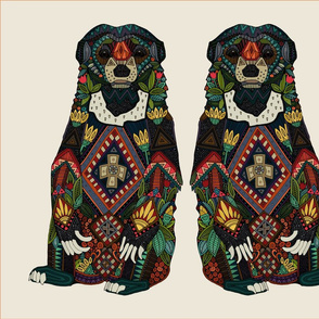 sun bear almond FQ panel