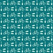 Sport Pattern Blue