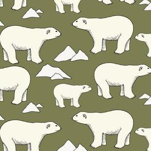 Polar Bears - Sage