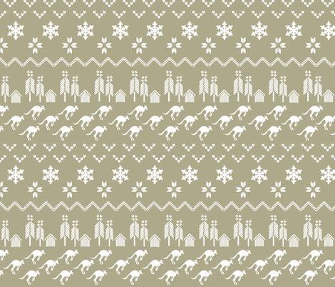 Alpine Chalet_Knit summer fabric by colour_angel_by_kv on Spoonflower - custom fabric