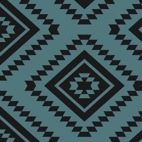 Aztec - K90, Teal