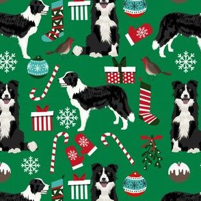border collie christmas fabric xmas design christmas fabrics cute red and green fabrics