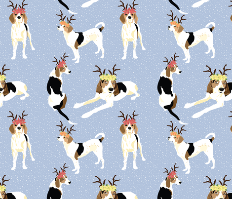 Gracie-and-Greta-Holiday fabric by vieiragirl on Spoonflower - custom fabric