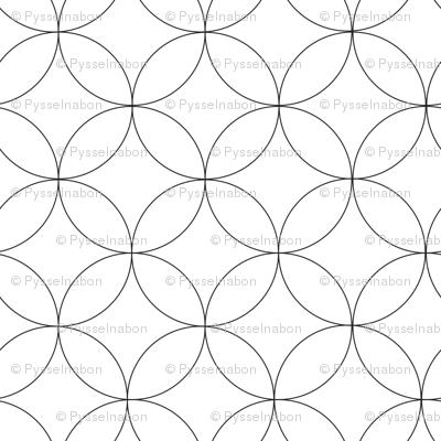 circles bw