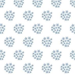 Flower Print-Blue