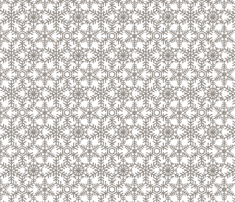 Snowflakes Web Glitter White Silver fabric by wickedrefined on Spoonflower - custom fabric