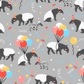 Tapir Party  // by Annie Swift