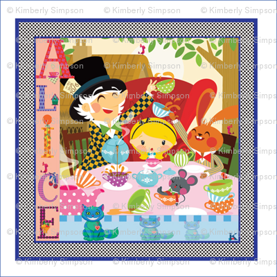 Alice 8x8 / Sateen, Minky