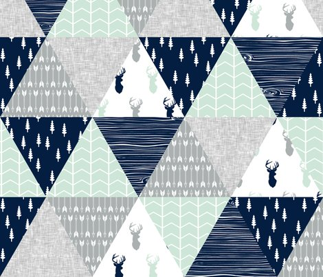 Rnew_northern_lights_triangle_quilt_top_buck_head-02_shop_preview