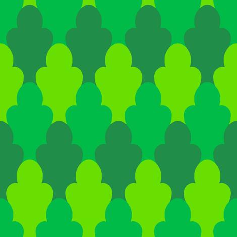 Leafy Scales 3 fabric by jadegordon on Spoonflower - custom fabric