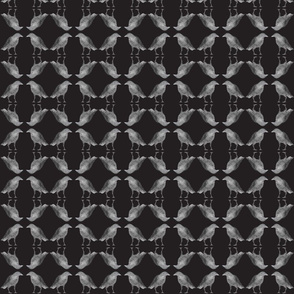 Caw Caw Black Tiny Circles