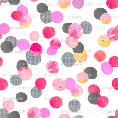 confetti dot with grey