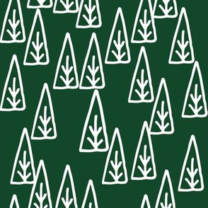 christmas trees // fir tree xmas holiday christmas holiday scandi nordic christmas fabric