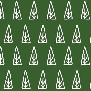 christmas trees // scandi green christmas trees forest xmas holiday christmas