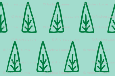 christmas tree // scandi mint trees christmas trees xmas holiday mint and green christmas