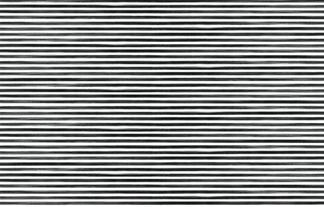 black gouache stripe fabric by ivieclothco on Spoonflower - custom fabric