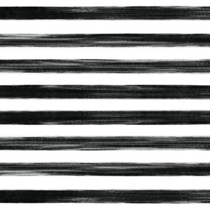 black gouache stripes