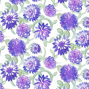 Purple Blooms by autumnvdesigns