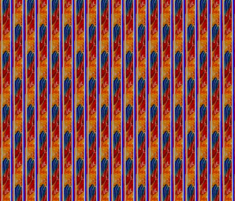 Treasure Stripe fabric by valeriehildebrand on Spoonflower - custom fabric