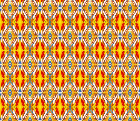 Contour_2 Mirrored fabric by valeriehildebrand on Spoonflower - custom fabric