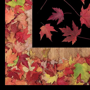 Autumn Maple Leaves Panel