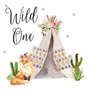 Fox / Wild One Teepee 7""