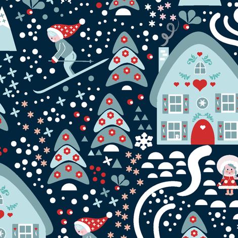Winterfun fabric by janebwilson on Spoonflower - custom fabric