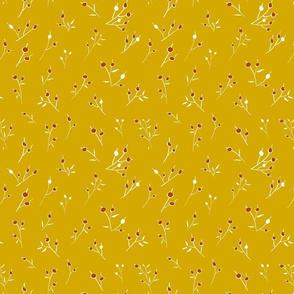 streublumen yellow and red