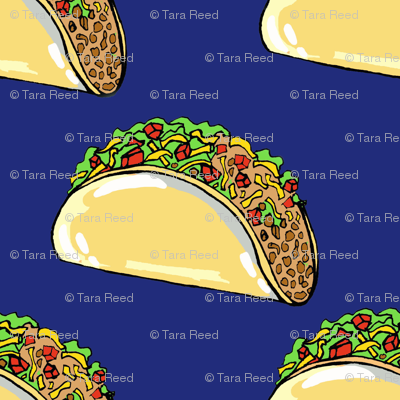 Tacos on navy- small scale