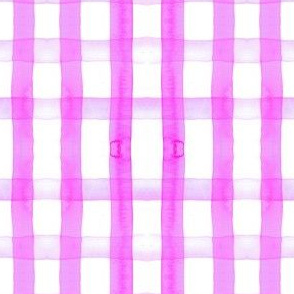gingham watercolor neon purple