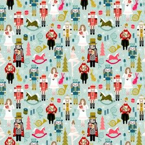 nutcracker ballet // nutcrackers xmas holiday christmas christmas xmas holiday fabric by andrea lauren