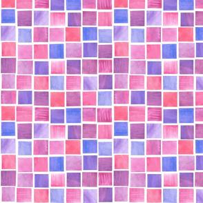 Squares in Raspberry