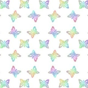 Small Butterfly Stencilled