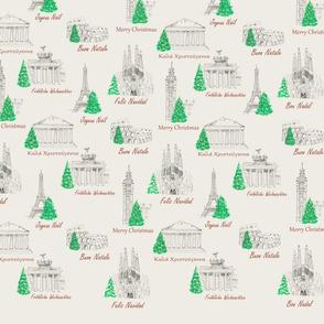 Christmas Landmarks